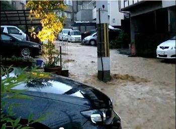 ゲリラ豪雨は予測不可能